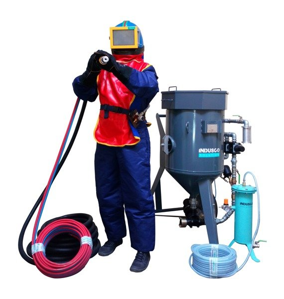 COMPLETE soda blasting package 100L