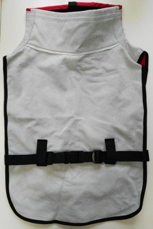 A RES helmet protective apron, leather