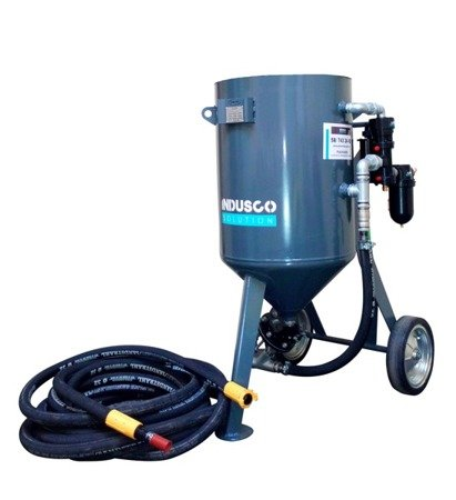 BASIC remote controlled sand blasting package 200L