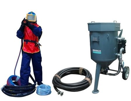 COMPLETE remote controlled sand blasting package 150L