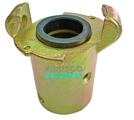 CQT-1/CQT-2 type metal coupling for the sand blasting/shot blasting hose 25/7 mm and 32/8mm