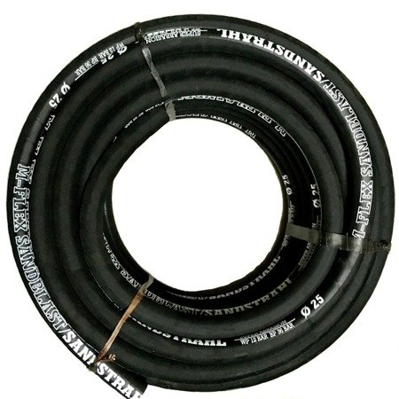 M-FLEX hose for sand blasting/shot blasting