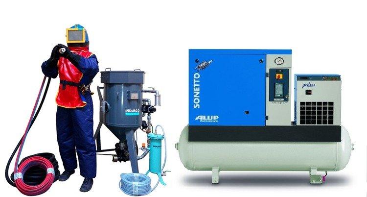 Niewiarygodnie Zestaw do sodowania 50l z kompresorem ALUP Sonetto 20 plus HC57